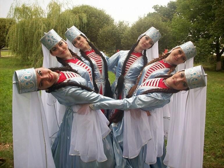 Фрагмент национального танца шапсугов