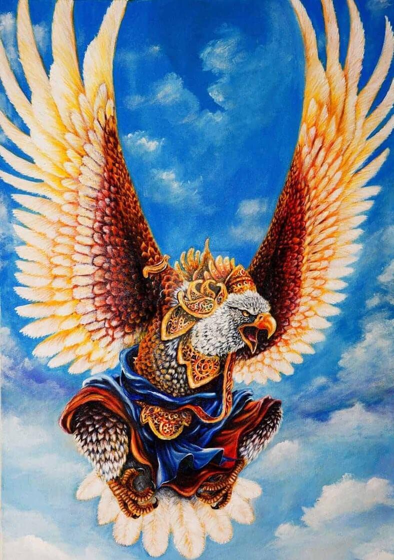 Гаруда - бог птиц