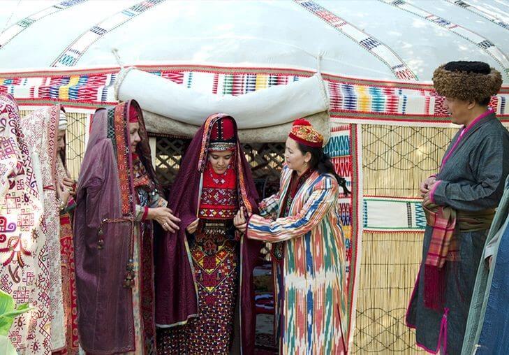 Каракалпакская свадьба - отражение древних обычаев