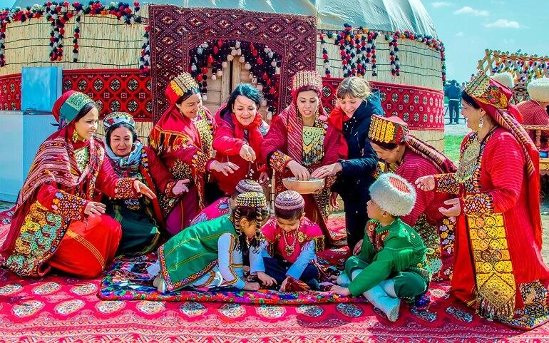 Науруз - весёлый праздник каракалпаков