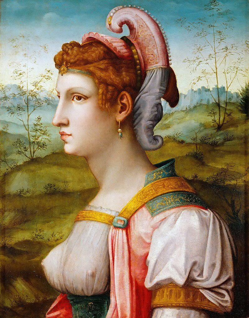 Сивилла. картина Баккьякка