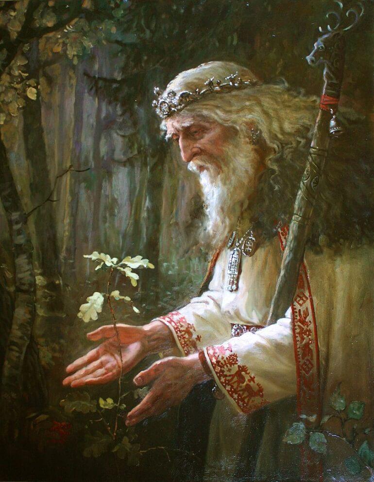 Святобор был защитником всех лесных существ
