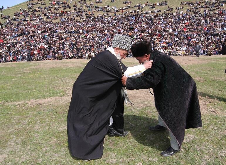 Таджикская борьба гуштингири