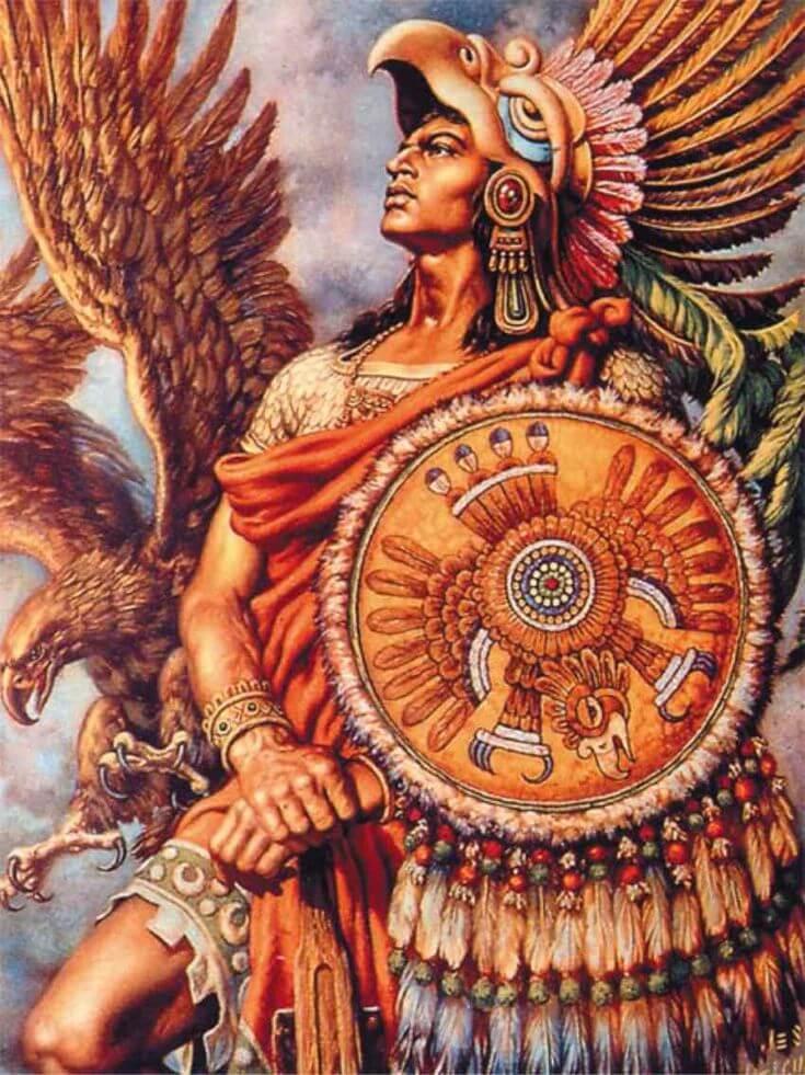 Воины были одним из высших сословий ацтеков
