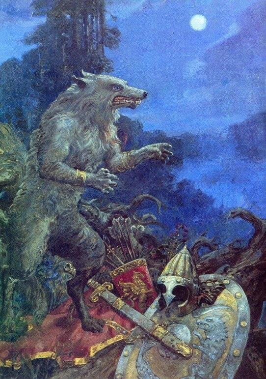 Волх был воином-оборотнем