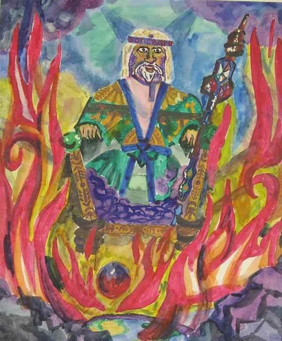 Хранитель сокровищ, Дый, превратился в покровителя разбойников