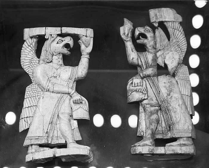 Хурриты верили, что их крылатые предки сошли с неба