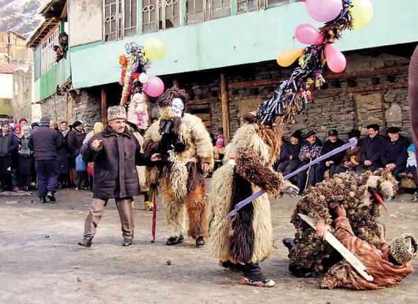 Праздник Игби в Дагестане