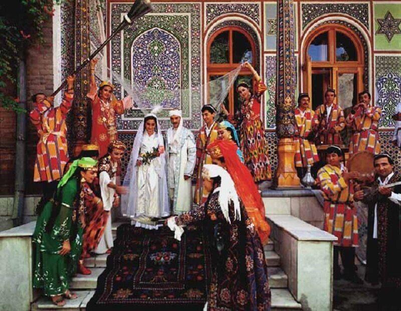 Свадьба в Узбекистане