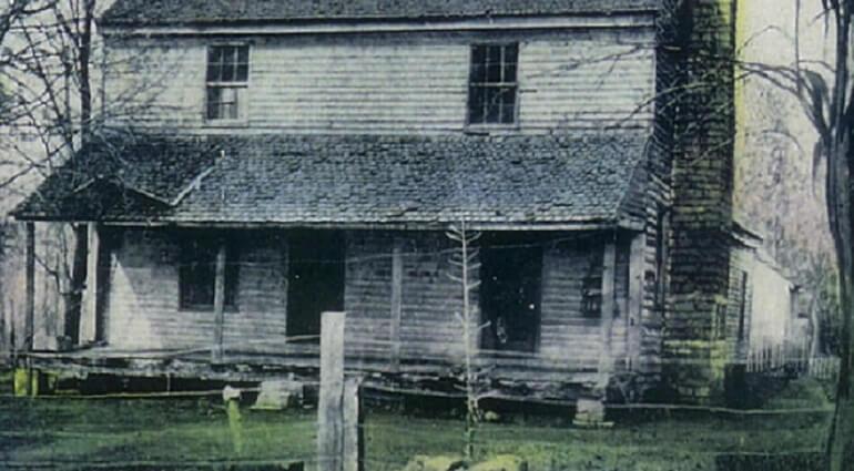Так выглядел дом Джона Белла