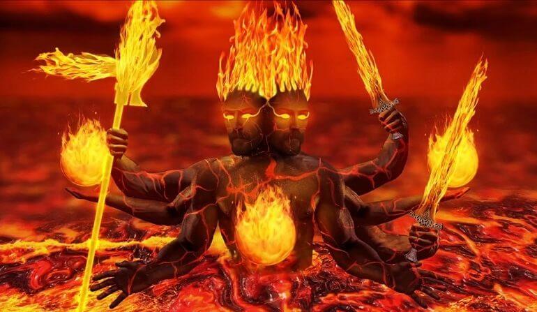 Агни - огненный бог Индии
