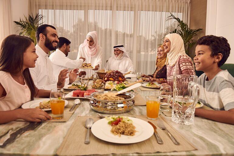 Арабская семья