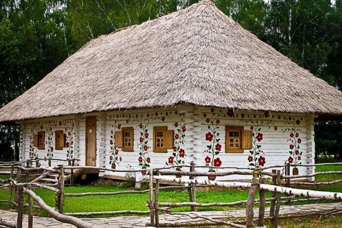 Дом в традиционном белорусском стиле