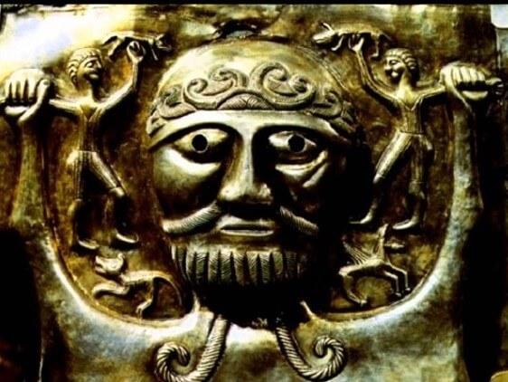 Изображение кельтского бога Тевтата