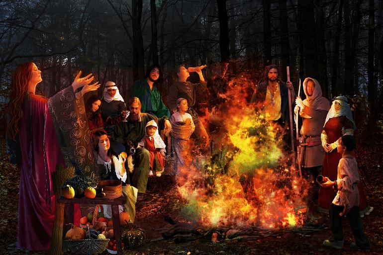 Кельты верили в особую силу пламени