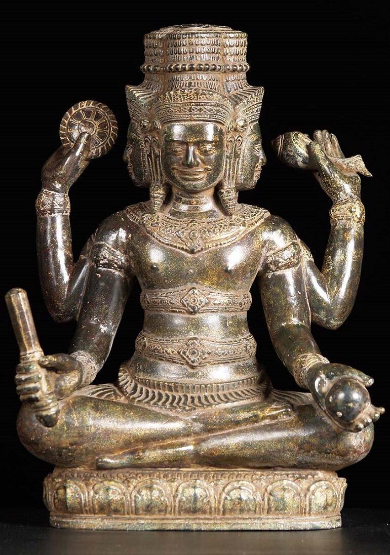 Скульптура Брахмы