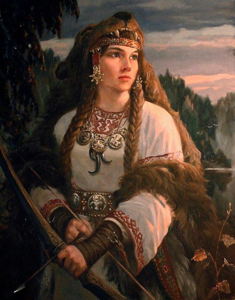 Славянская богиня Девана имела непростой нрав