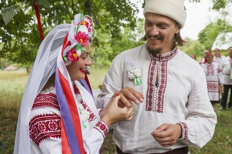 Традиционная белорусская свадьба