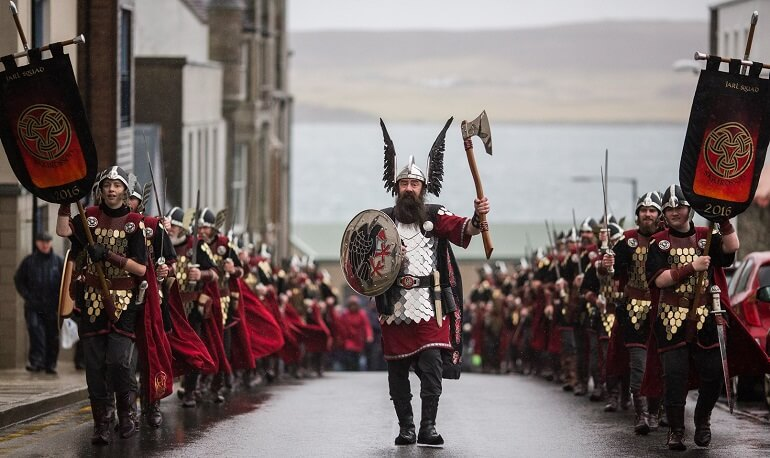 Апхелио - Фестиваль викингов в Шотландии