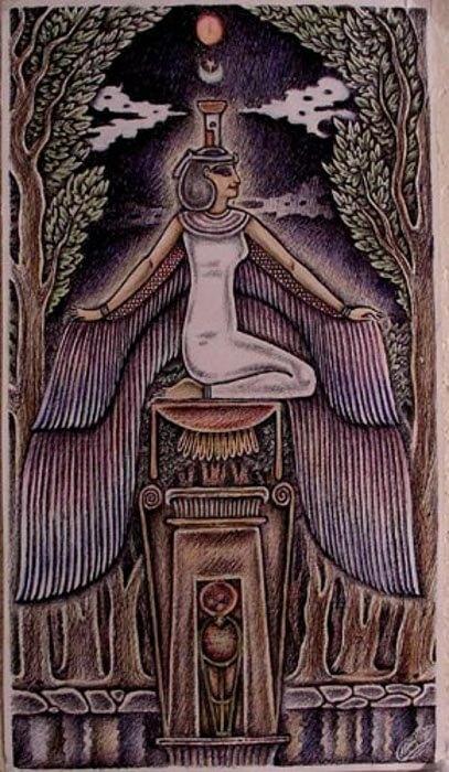 Нефтида - загадочная богиня Древнего Египта