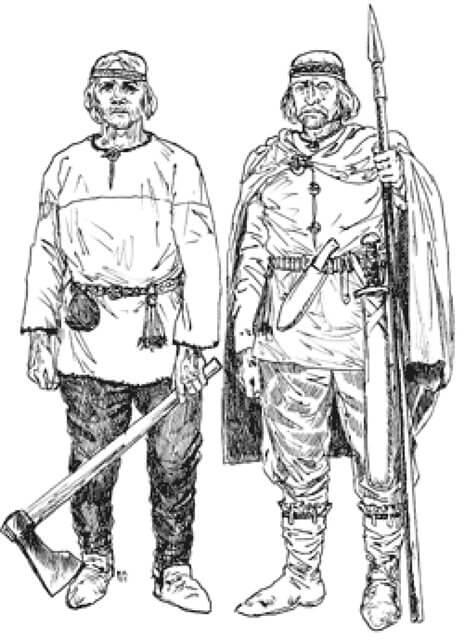 Прусские воины