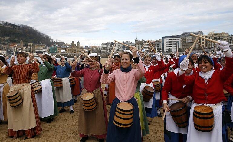 Тамборрада - необыкновенный марш барабанщиков