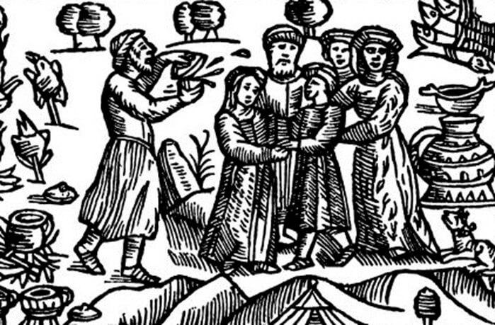 Жизнь пруссов была связана с разными обрядами