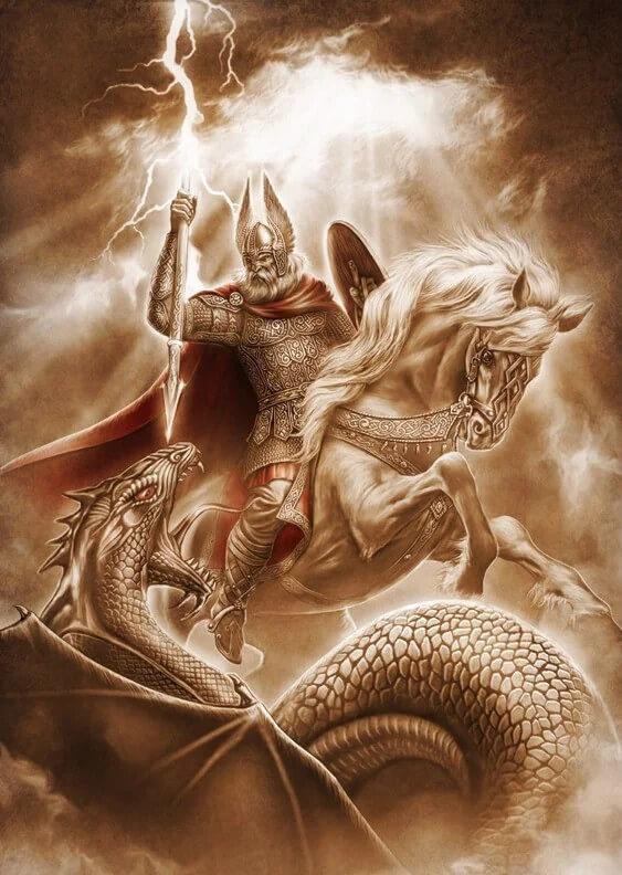 Битва Перуна и Велеса