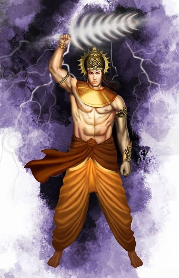 Индра - великий бог-воин
