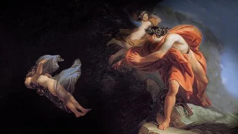 Из-за своей ошибки Орфей потерял возлюбленную навсегда