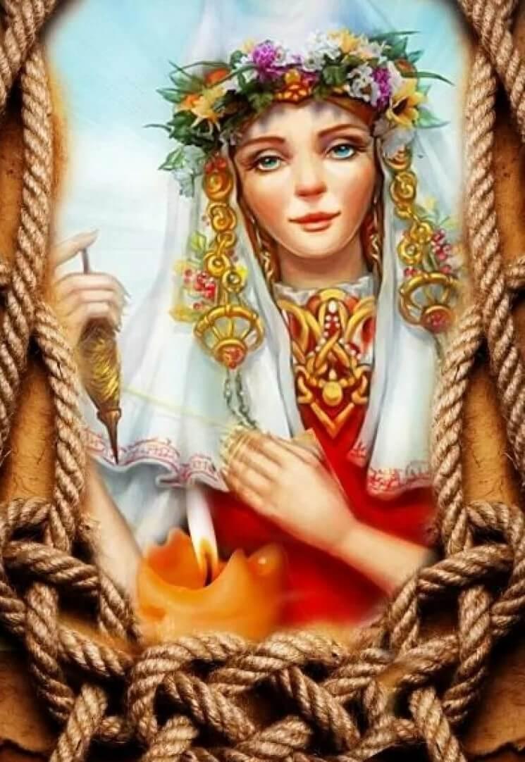 Макошь - необыкновенная славянская богиня