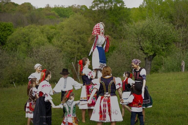 Обряд вынесения Морены у словаков