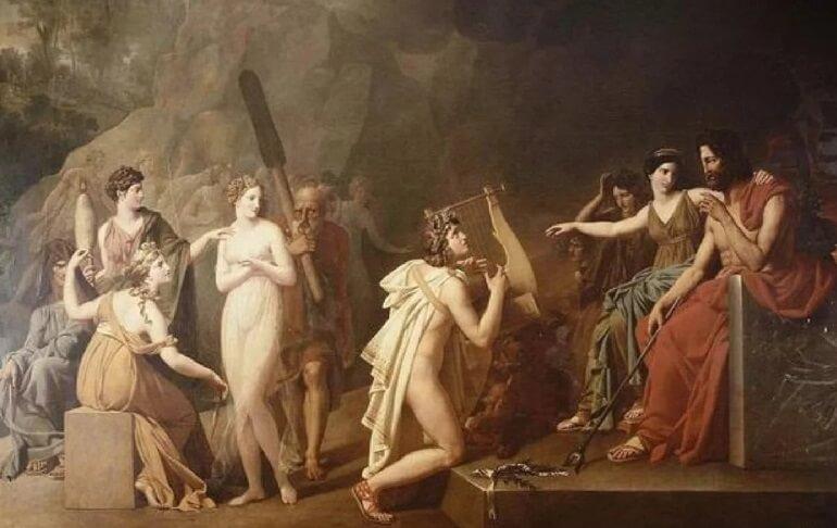 Орфей в царстве Аида