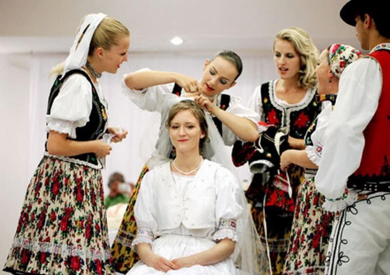 Подготовка невесты в Словакии