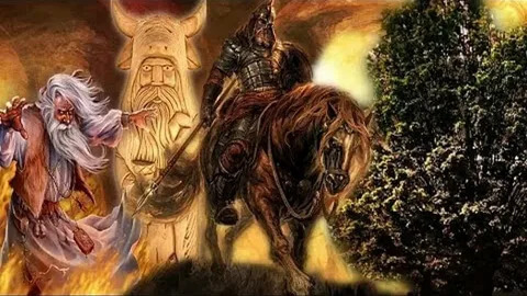 Противостояние Перуна и Велеса - это бой силы и магии