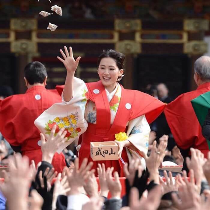 Сэцубун в Японии называют Фестивалем соевых бобов