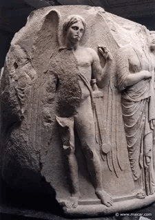 Древнее изображение Танатоса