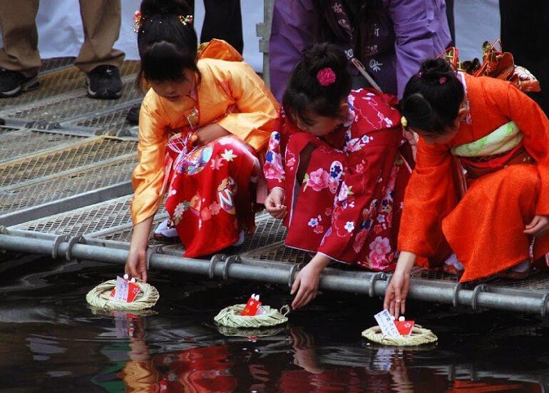 Хинамацури - старинный Праздник девочек в Японии
