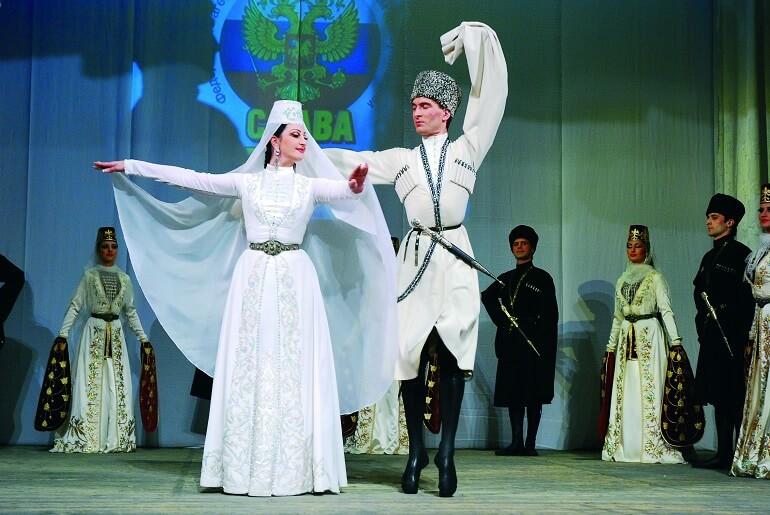 Осетинский народный танец