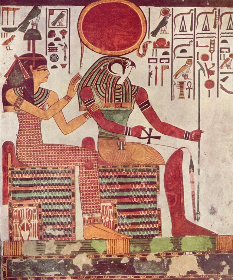 Ра считался великим богом-творцом