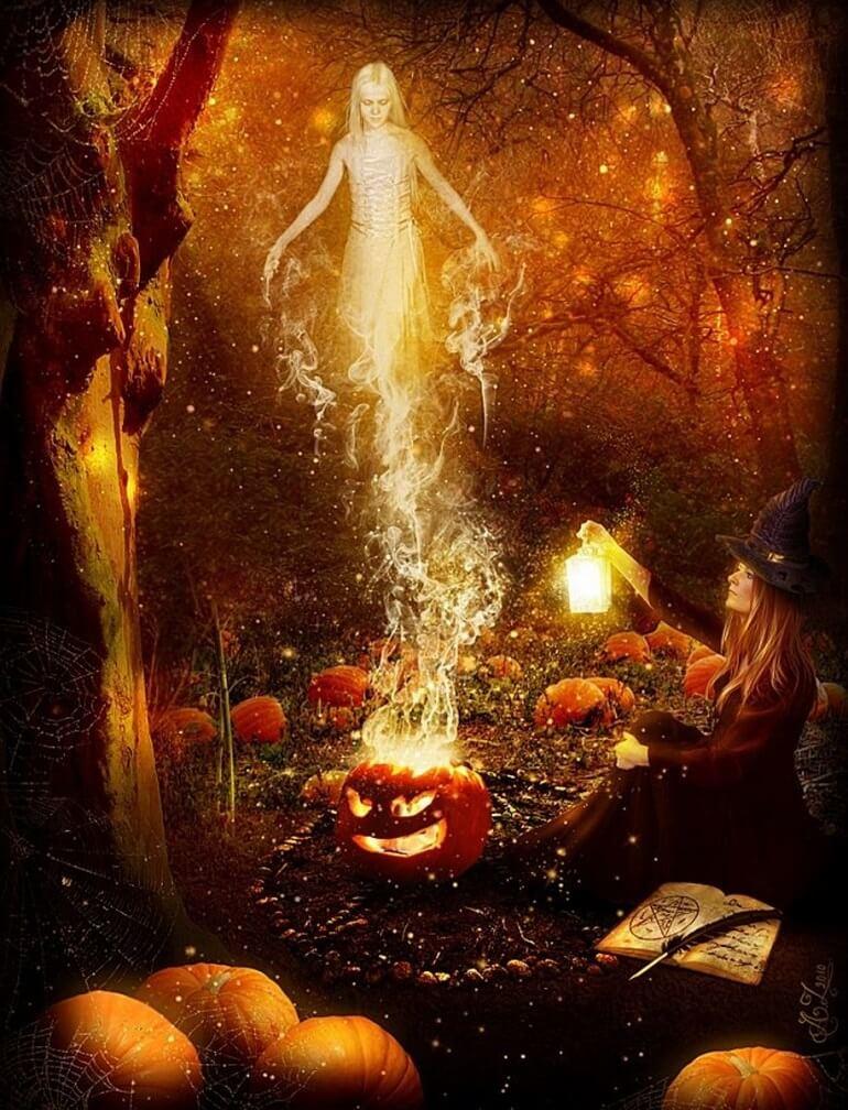 Самайн считался мистическим временем