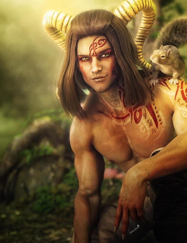 Сатиры - божества лесов