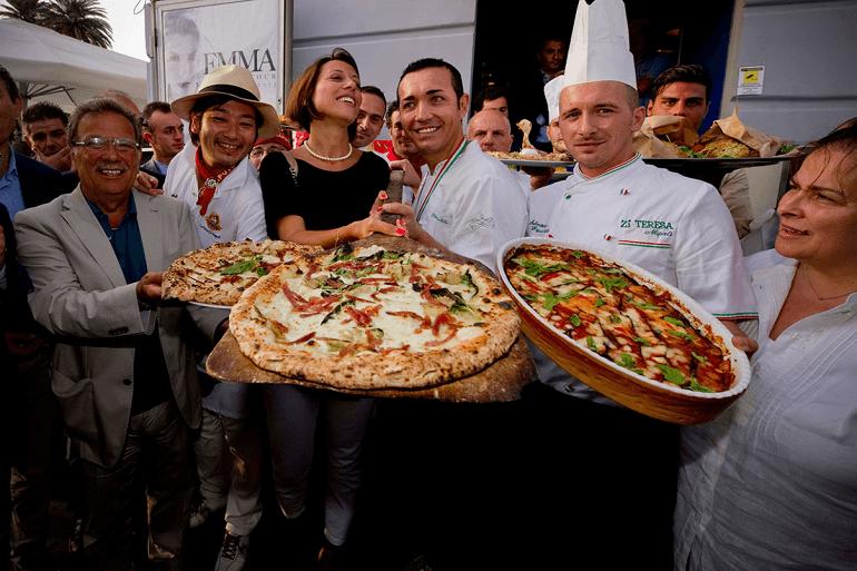 Знаменитые мастера предлагают попробовать и приготовить пиццу