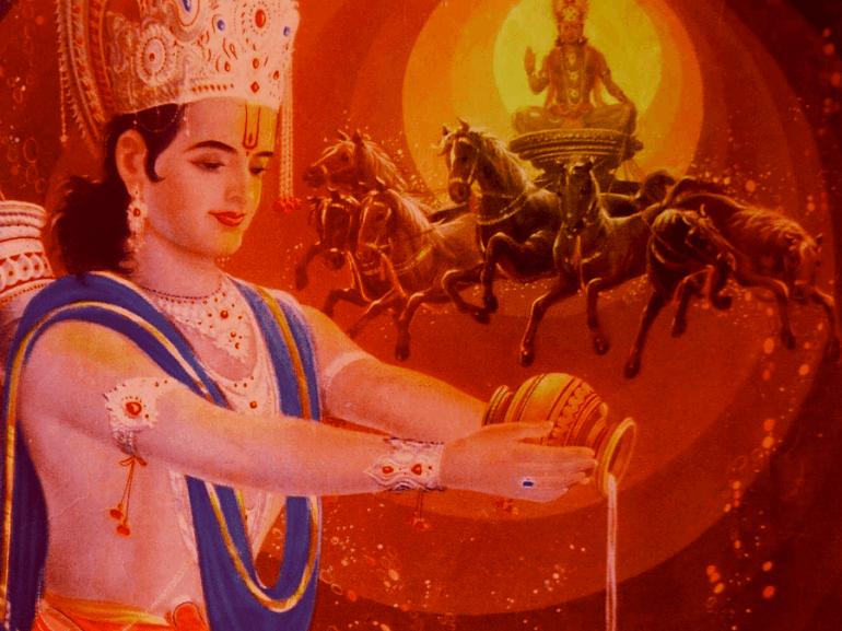Макара Санкранти связан с почитанием солнца