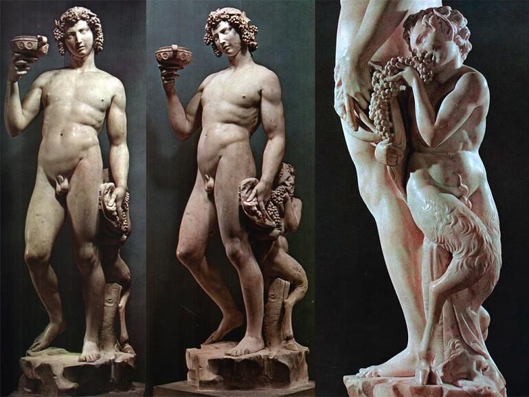 Микеланджело Буонарроти. Вакх (Бахус)