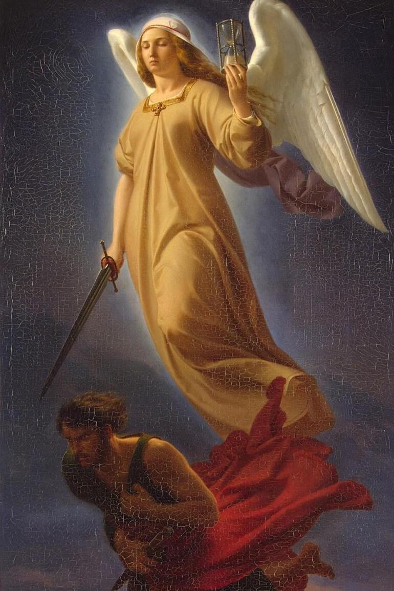 Немезида - грозная богиня греков