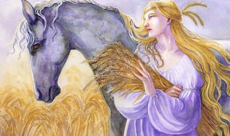 Рианнон - богиня с непростой судьбой