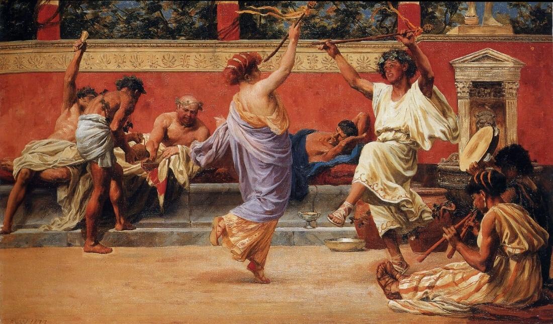 Сатурналии - необыкновенный праздник Древнего Рима