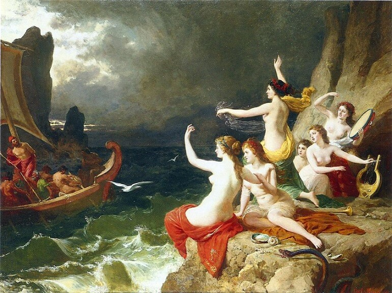 Сирены погубили немало мореплавателей