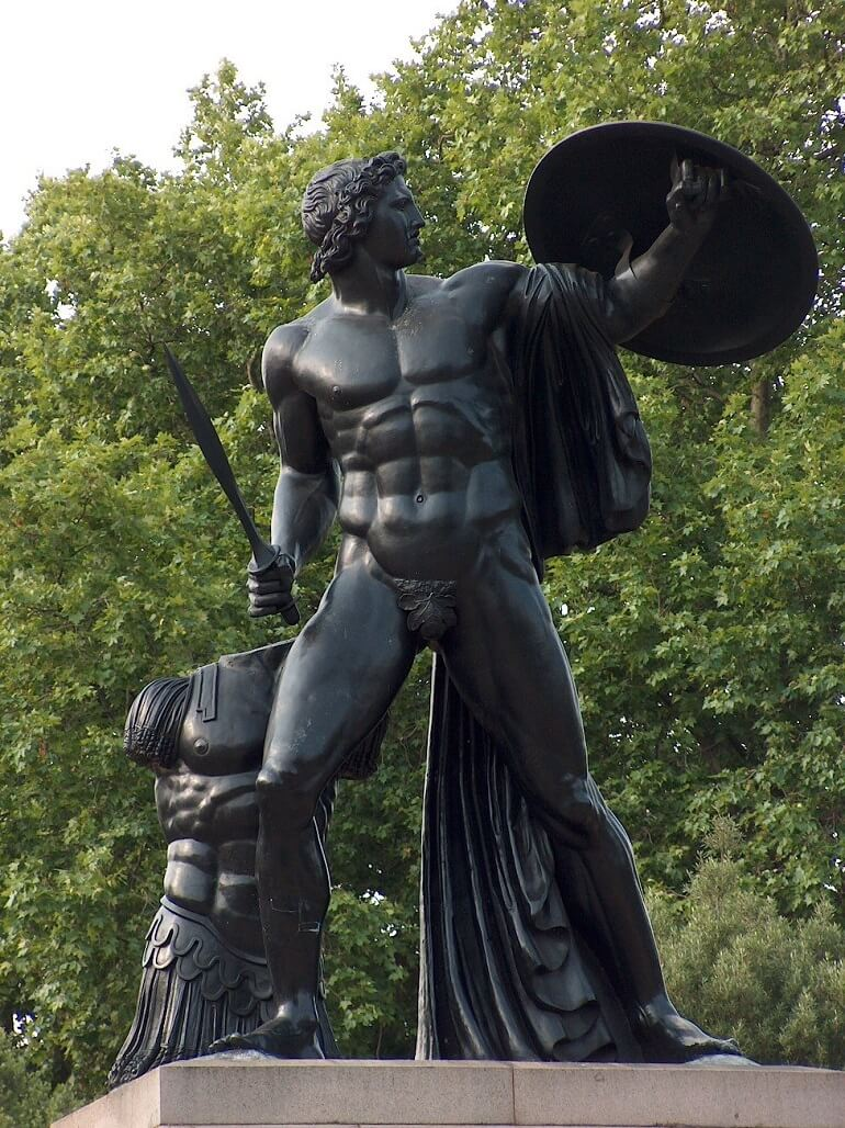 Скульптура Ахилла